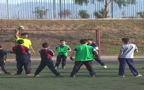 """Niños de Colina disfrutaron de entretenida jornada en """"Juegos Predeportivos Escolares"""""""