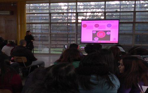 En Instituto Chacabuco se realizó charla de orientación a alumnos del Preuniversitario Municipal de Colina