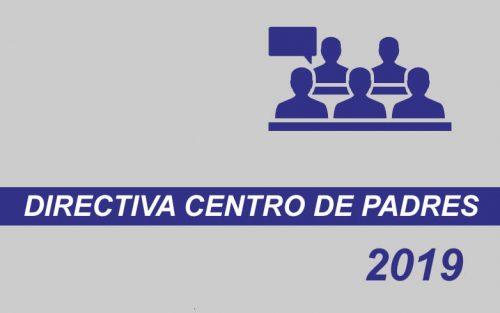 Directiva Centro de Padres 2019