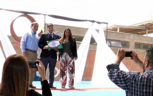 Egresado del Liceo Peldehue obtuvo beca para estudiar en la Universidad Católica