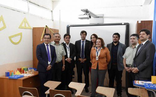Inaugurado Año Escolar 2019 en Liceo Humberto Díaz Casanueva del CCP COLINA II