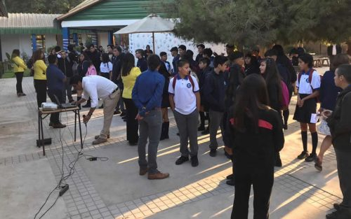 Con normalidad inició el regreso a clases de 13.000 alumnos a colegios y liceos municipales