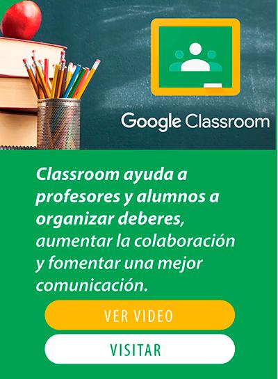 Google Classroom Corporacion Colina