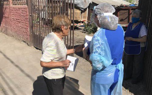 Colina Inicia entrega de medicamentos a domicilio para adultos mayores de 80 años y más