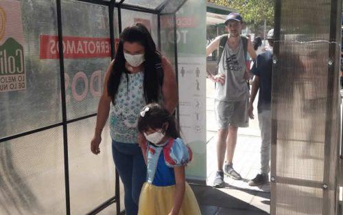 Colina prueba novedoso túnel sanitizador para minimizar riesgos de contagio de coronavirus