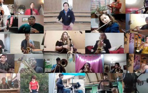 Game Of Throne interpretada por la Escuela de Música de Corporación Municipal de Colina