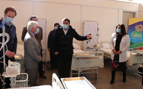 Inaugurado Centro Transitorio de Emergencia en Colina para pacientes con COVID-19