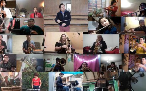 Escuela de Música de Corporación Colina presenta su primera orquesta virtual