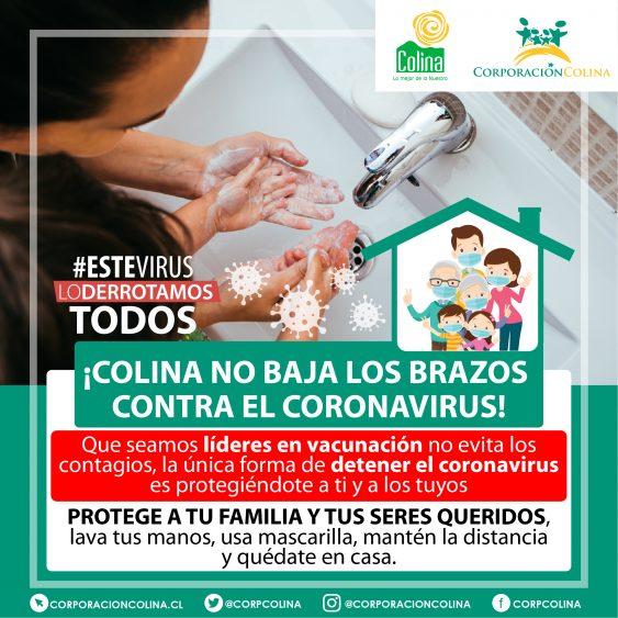 Colina No Baja Los Brazos Contra El Coronavirus