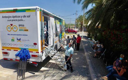 Nueva Óptica Comunal Móvil llevará atención gratuita a los vecinos de Colina