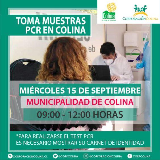 Toma Muestras PCR-Municipalidad De Colina