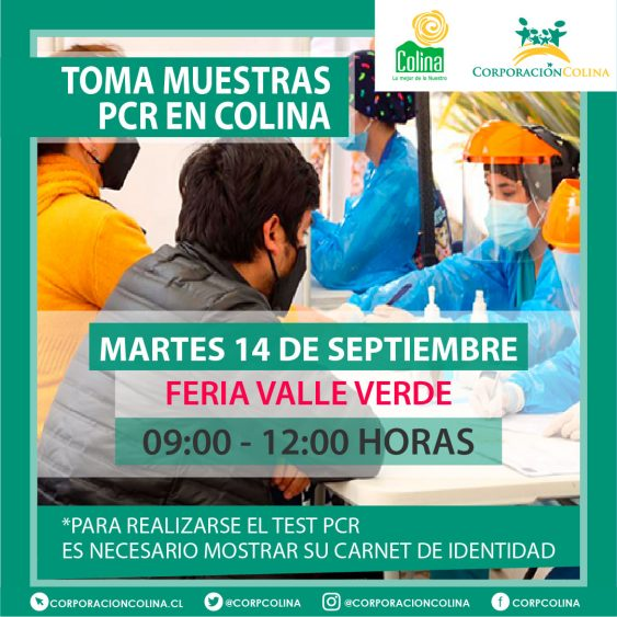 Toma Muestras PCR-Valle Verde